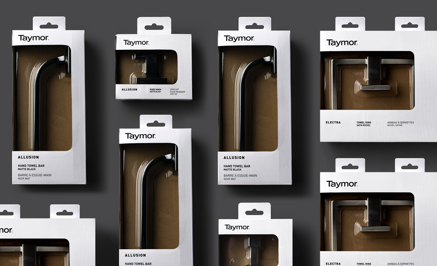 photo of Taymor packaging