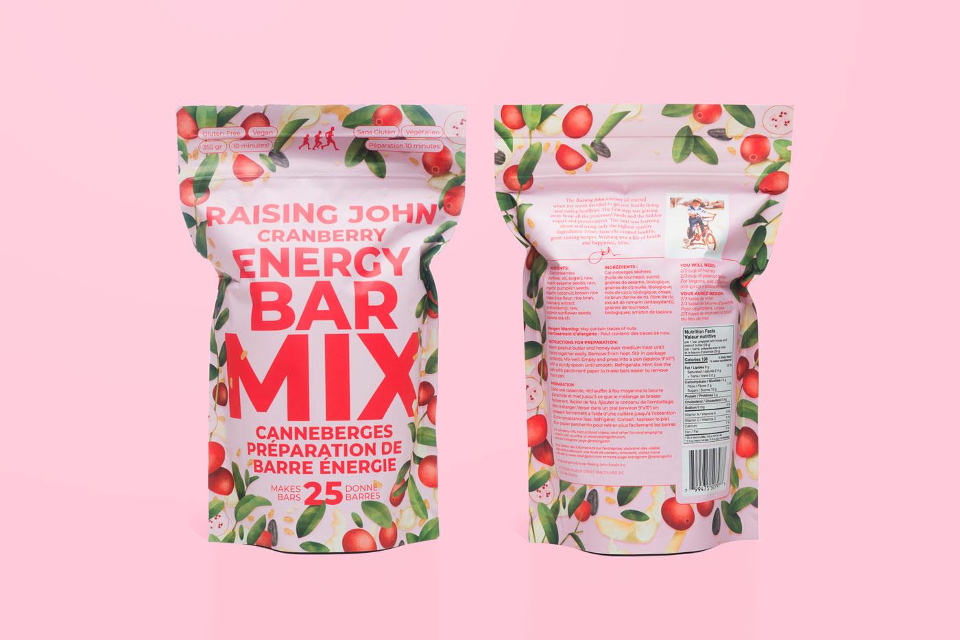 photo of Raising John packaging