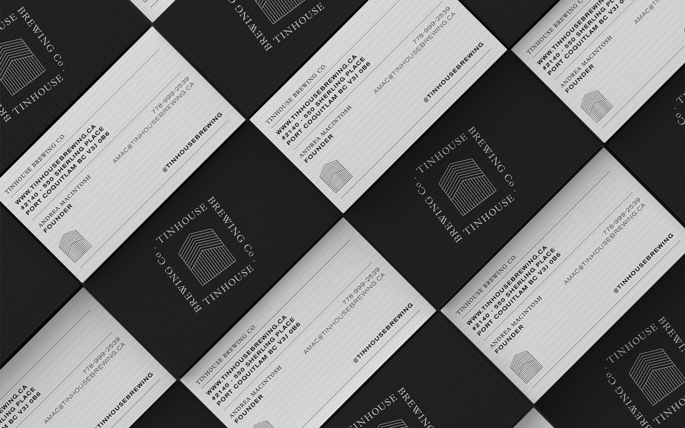 photo of Tinhouse Brewing business cards