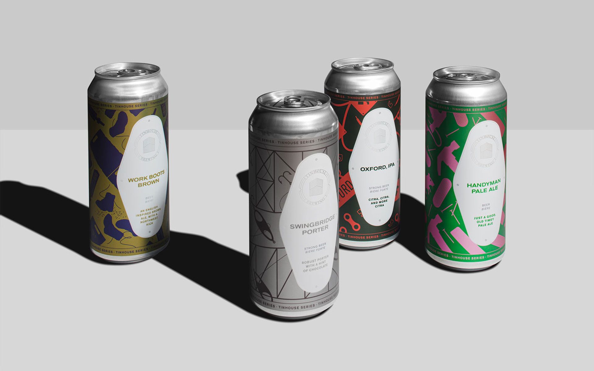 photo of Tinhouse Brewing beer cans