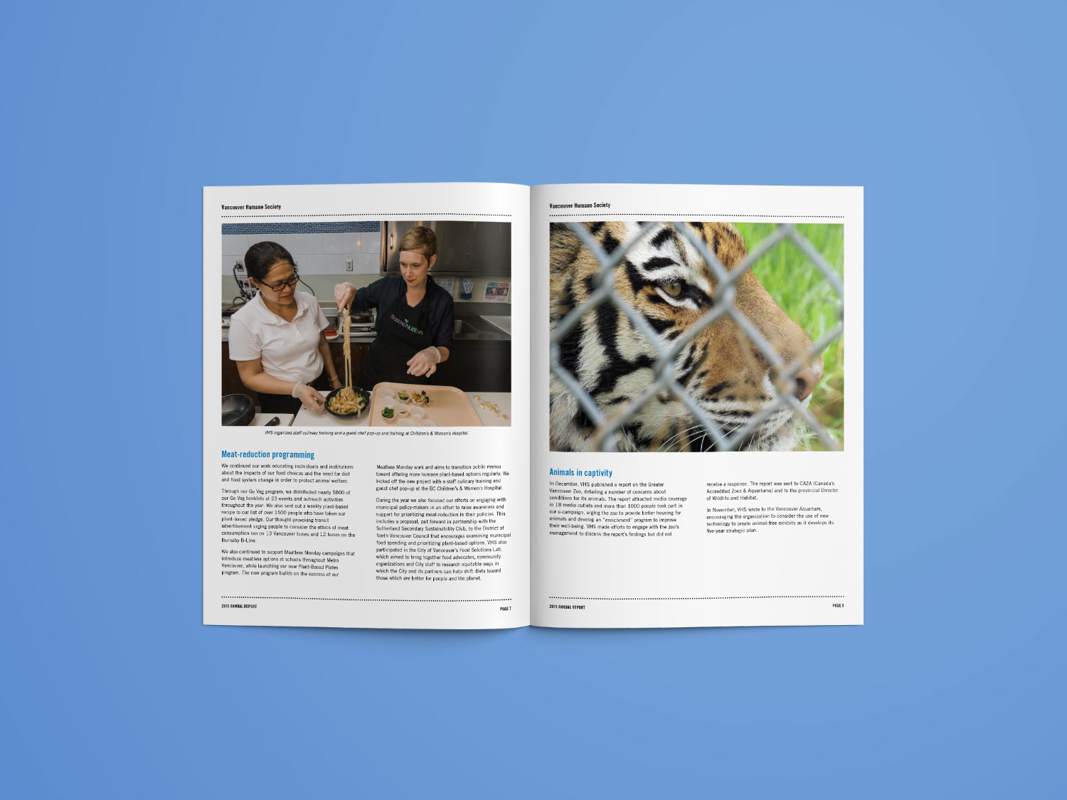 Vancouver Humane Society 2019 Annual Report