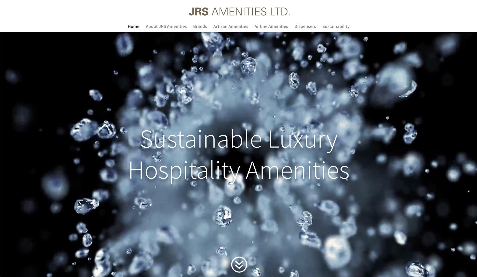 image of homepage for jrsamenities.com