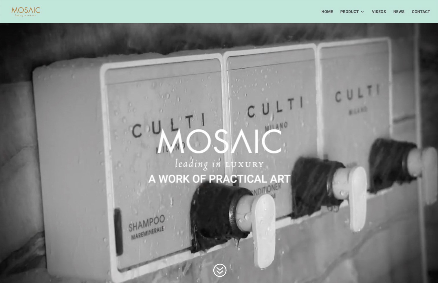 image of homepage for mosaicdispenser.com