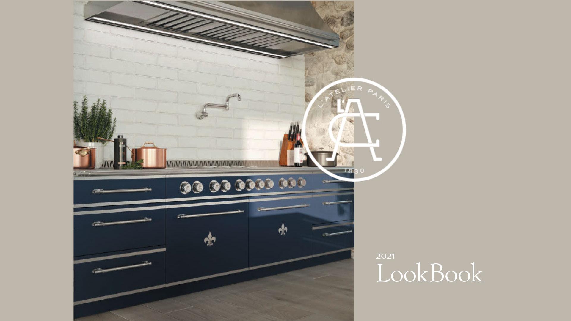 cover of L'Atelier Paris 2021 LookBook